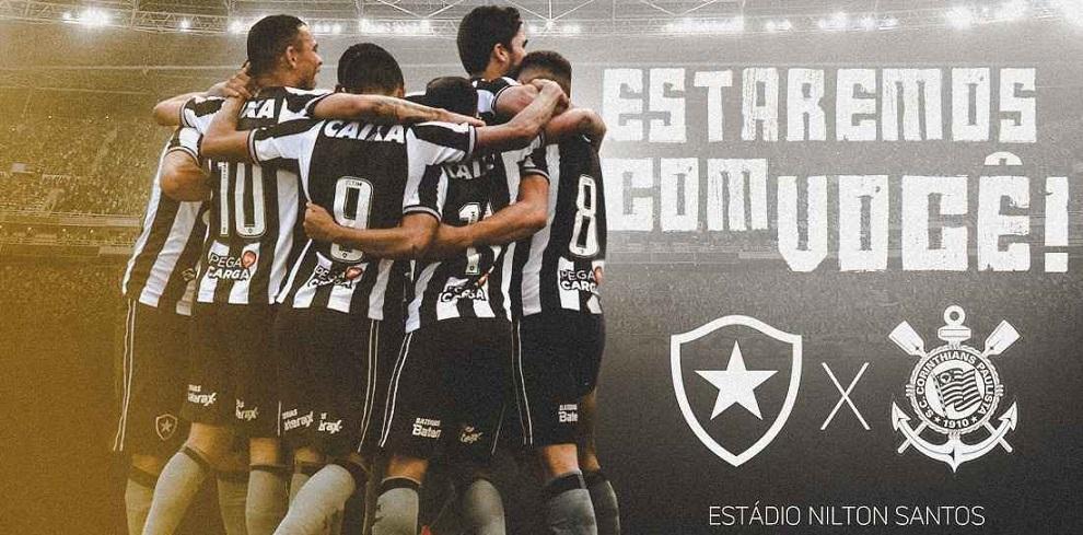 Ingressos Botafogo x Corinthians bb25456476bc6