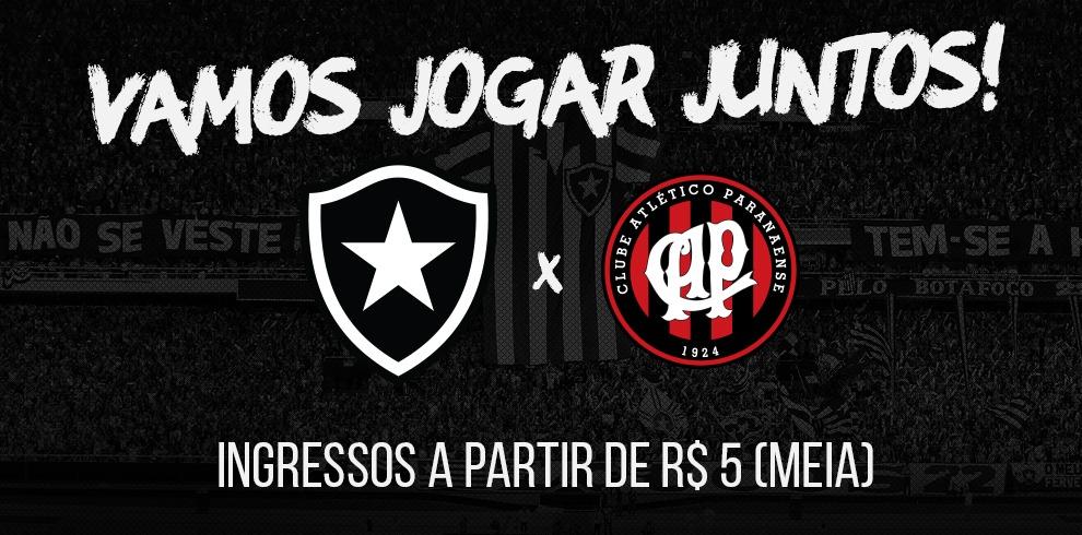 99598c7b05 Ingressos Botafogo x Atlético-PR