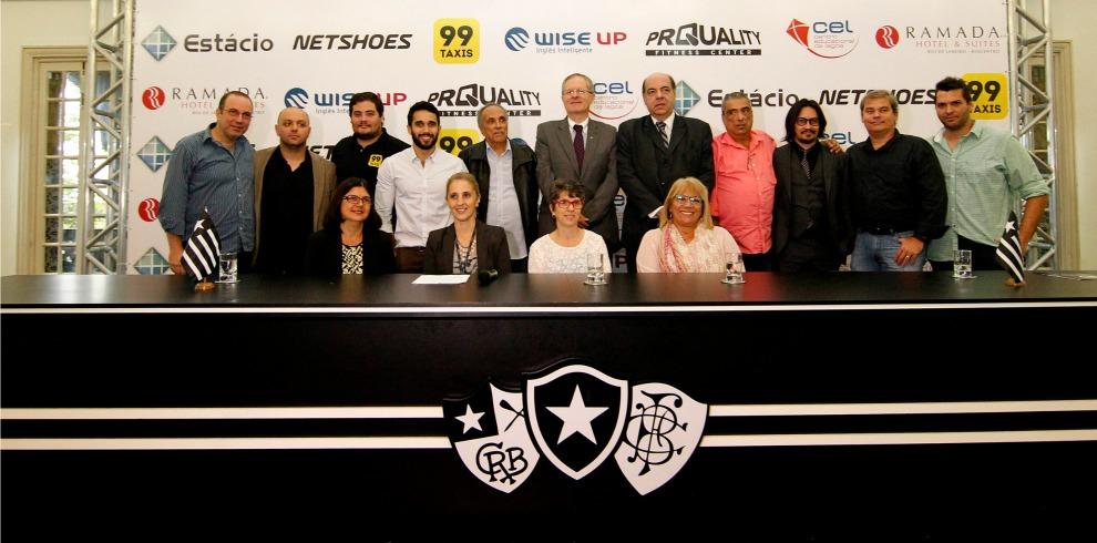 O Botafogo de Futebol e Regatas apresentou nesta terça-feira a mais  completa rede de benefícios de um clube brasileiro para sócios-torcedores. d02f9c681dd67
